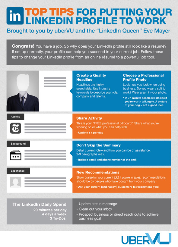 what-need-linkedin-even-not-looking-job-infographic